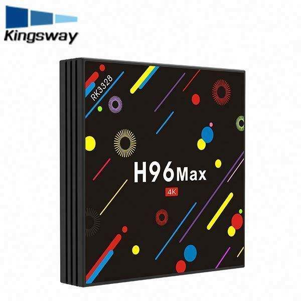 2017 Rockchip RK3328 H96 MAX Quad-core Android 7.1 4 Karat HD 4 + 32 GB Android TV Box