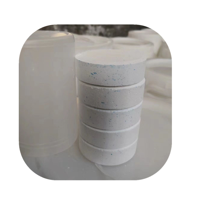 TCCA tablet / tcca 90% granular 87-90-1 chlorine tablet used for swimming pool