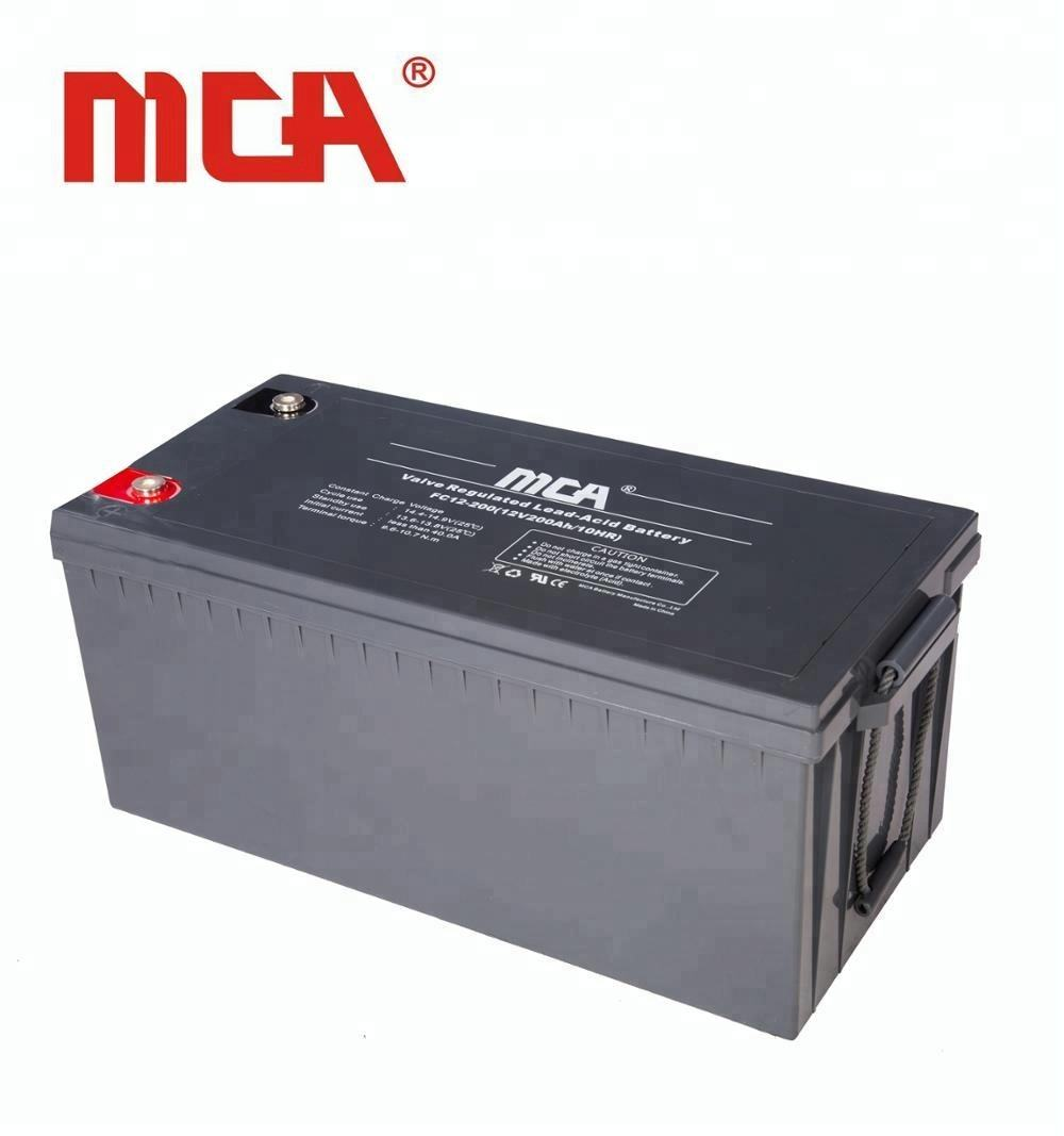 MCA Joint Batteries Au Plomb 12V 200Ah AGM Batterie