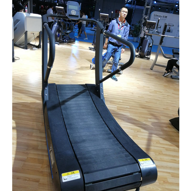 Hot sale new Curve treadmill / gym running machine / Self generating treadmill
