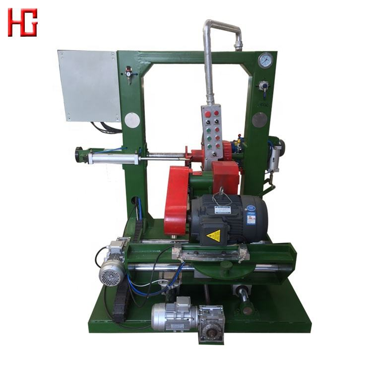 A full set of retreading equipment tyre grinding machine / truck waste tire recycling machine / cold line tyre retreading