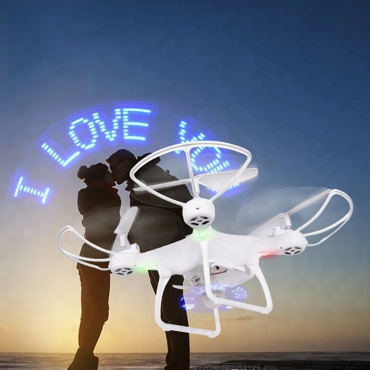 DWI Show Love Light Super Long Flight Time High hover Drone With Camera HD