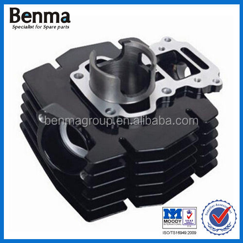 2 Stroke cylinder head Motorcycle engine system Fine heat dissipation block cylinder for motorcycle cylinder