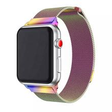 Hot sale Metal smartwatch bands for iwatch 44mm Milanese Stainless Steel link bracelet for Apple Watch Series 4
