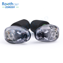 New Technology High Fidelity Digital Shooting Earplugs, Dual Switch Hearing Protection, Electronic Ear Plugs