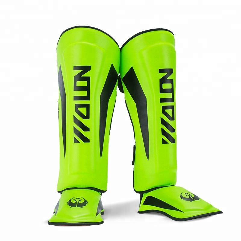 Muay thai training shin pads custom shin guards