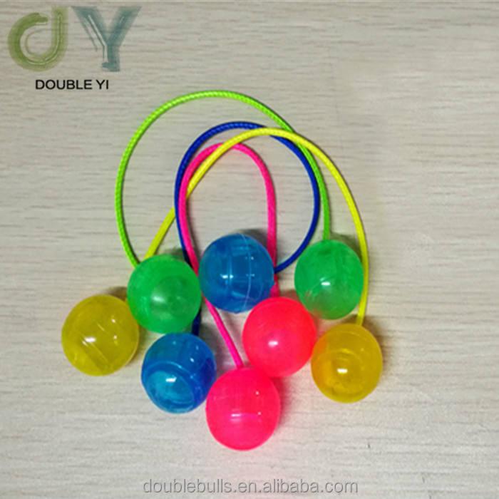customized/wholesale novel intersting plastic flashing light fingertips yo-yo ball