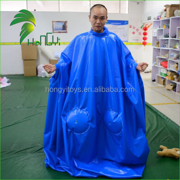 Hongyi New Design Inflatable Ball Suit Customized Inflatable Blueberry Suit For Adult