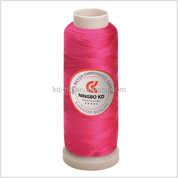100% Rayon Embroidery Thread 120D/2 2000yds