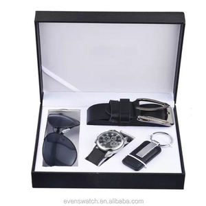 Hot sale men gift set watch could design your own watch box for businless man