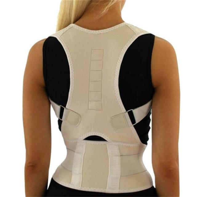 Discreet Clavicle Support Back Support Belt Posture Corrector with Magnets