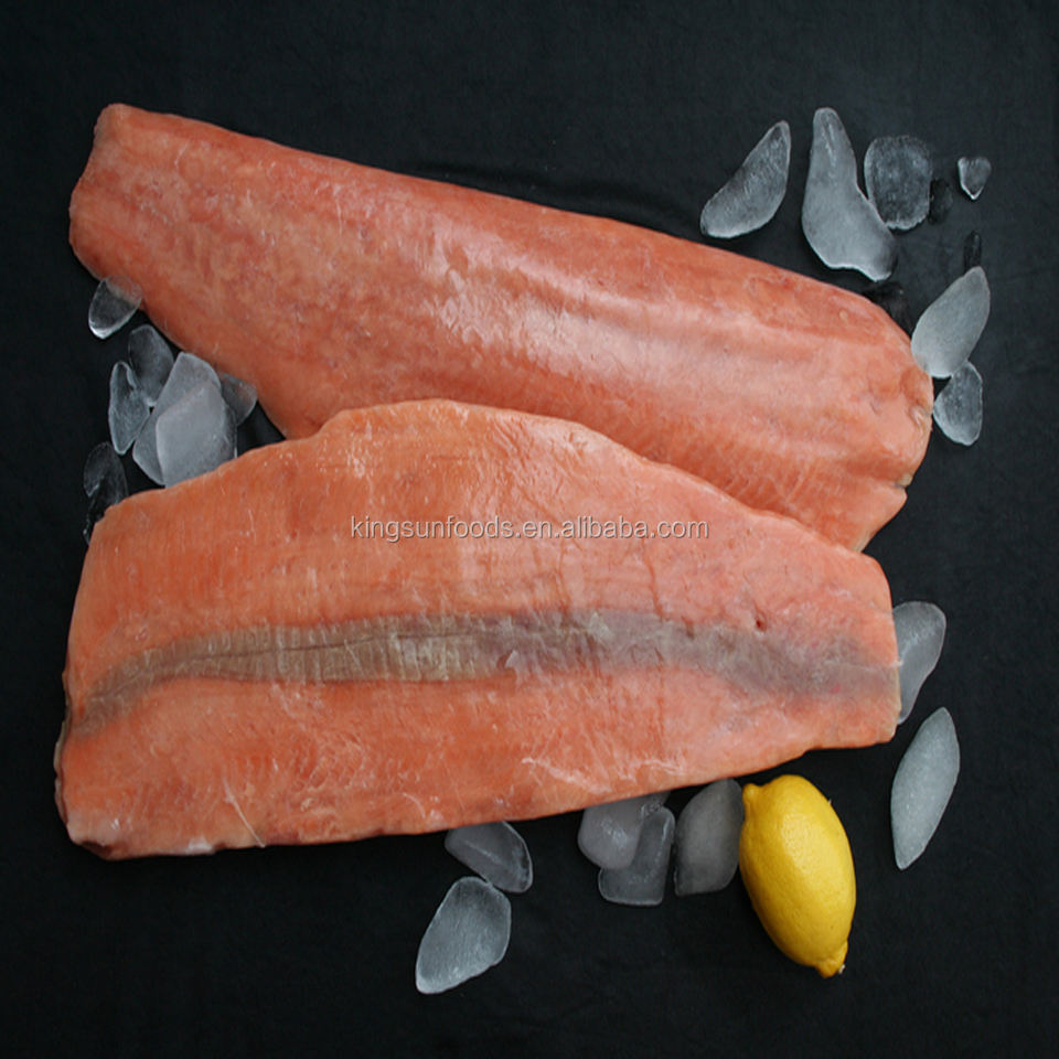 Frozen Pacific Chum/Pink Salmon Fish