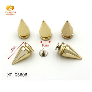 Wholesale silver color studs and spikes for clothing