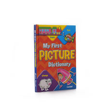 Customized bulky Color children picture dictionary book hardcover book