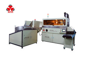 S102 Best Choice Reliable Plc Control Screen Printing Machinery For Plastic Bottles