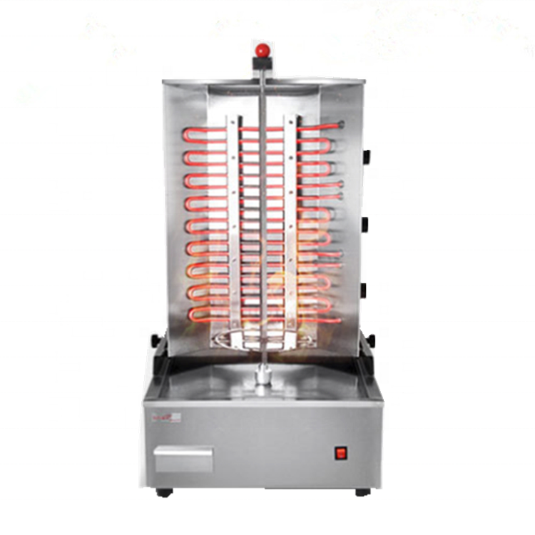 Electric Chicken Duck Lamb Meat Doner Kebab Shawarma Roasting Making Machine