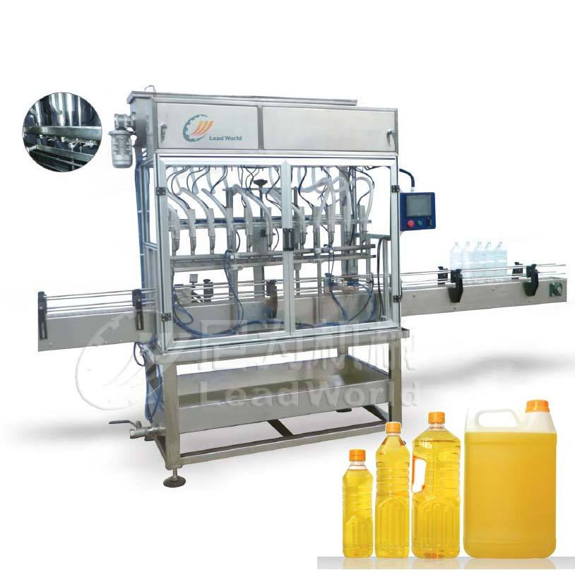 Automatic filling machine for cream honey Oil