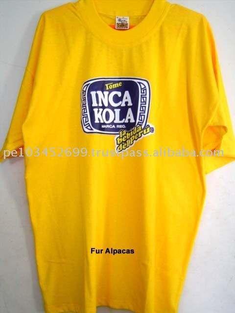 Crewneck Cotton T Shirt for Unisex Peru