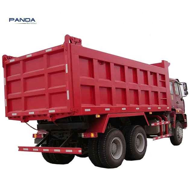 Reasonable price HOWO 380hp 6*4 widely used dump truck trailer for sale