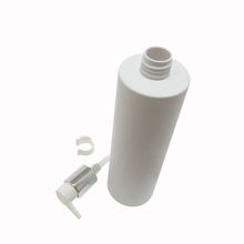 cosmetic plastic card lotion bottle 500ml 700ml 1000ml Empty refillable pump round bottom e-liquid
