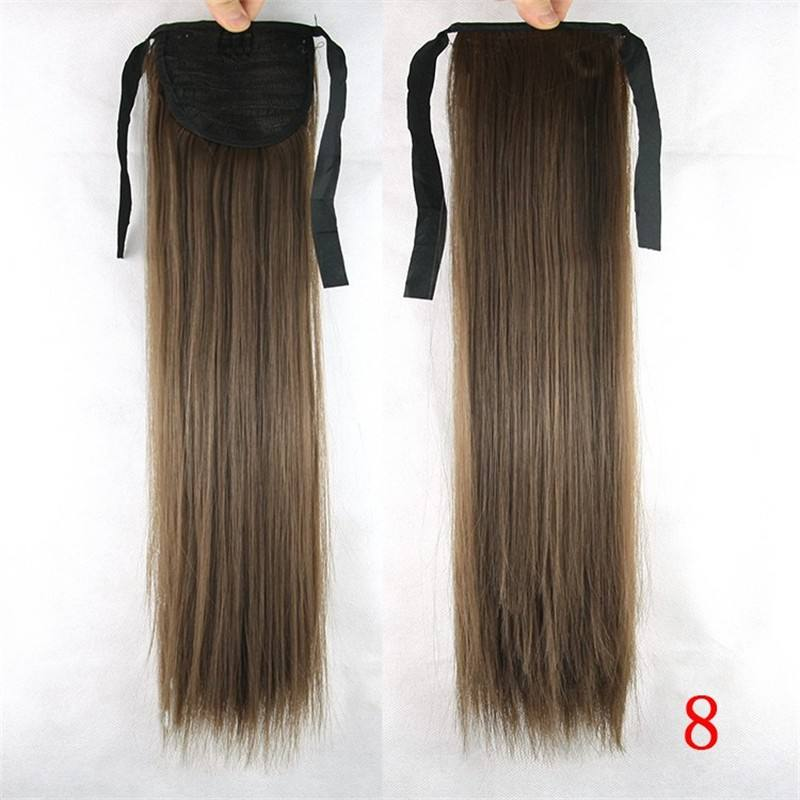 wholesale cheap long human hair extensions ponytail/blonde human hair ponytail/ black hair ponytail by manufacturer