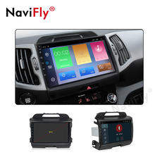 NaviFly 188L  2+32G 9inch Android 9.1 car audio video player for KIA SPORTAGE R 2010-2013 stereo radio system with FM WIFI