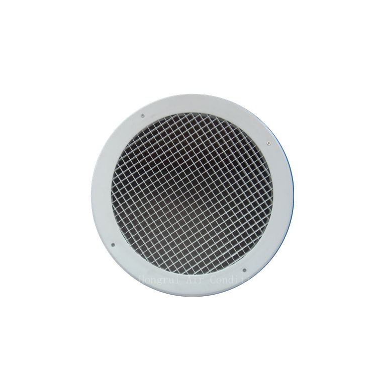 Egg shape grate grill air filter as diffuser