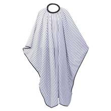 2018 New Arrivals Barbershop Salon Hairdressing Stripe Hair Cutting Cape, Designer Quality Barber Cape