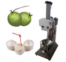 The sixth generation  diamond shape green coconut peeling machine/coconut cutting machine