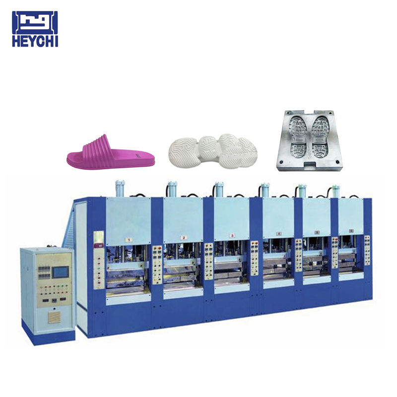 Rubber/ TPR /Eva Phylon Shoe Sole Making Moulding Machine For Low Price