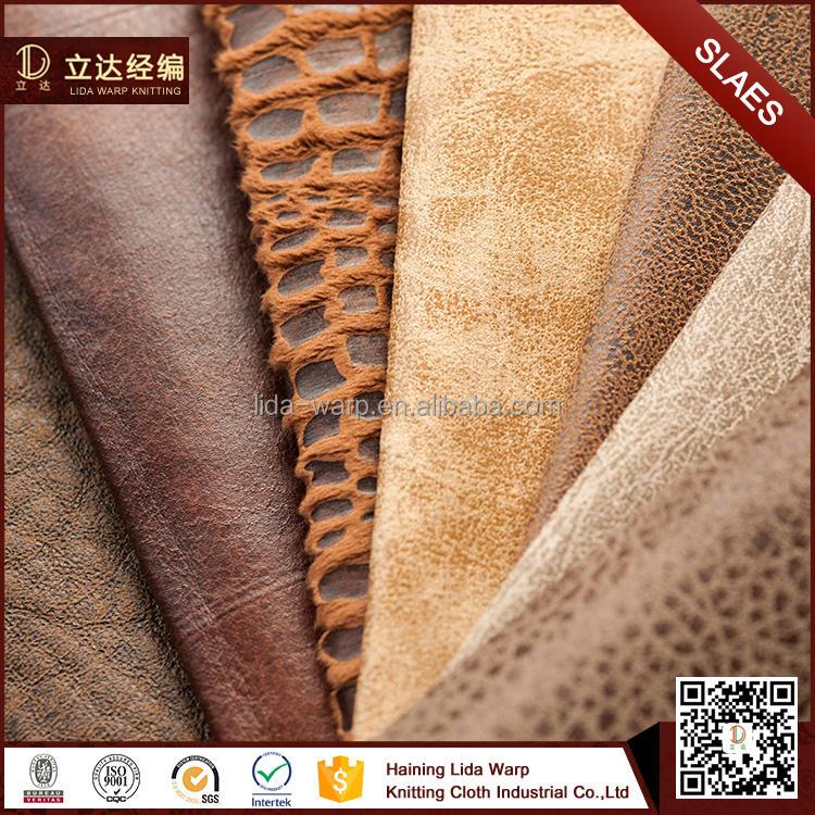 China alibaba teia de malha de tecido 100% Poliéster da camurça