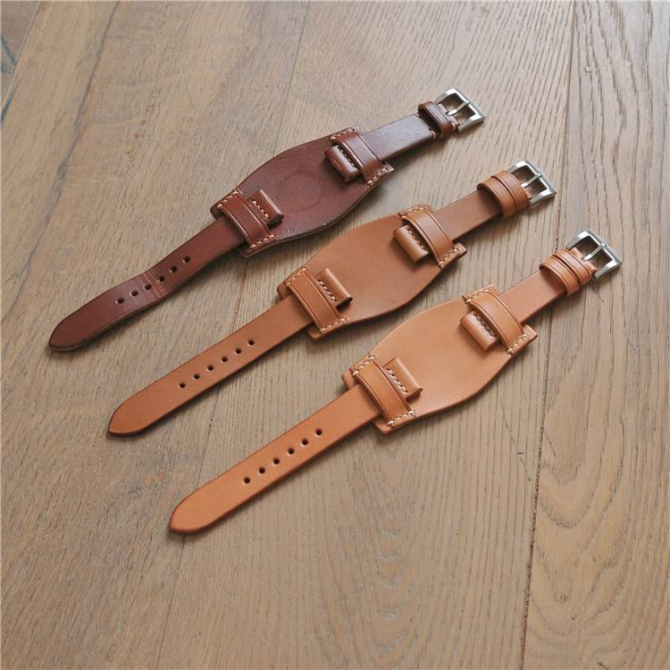 leather sport watch strap for boys ,man watch band