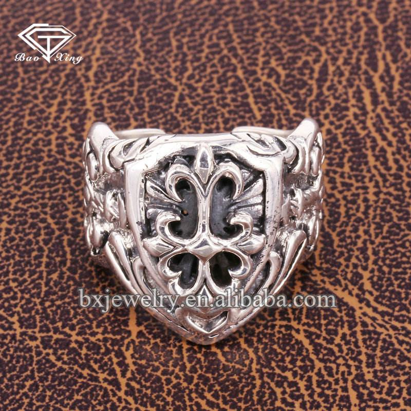 New premium personalizzata registrabile thai gioielli in argento anelli
