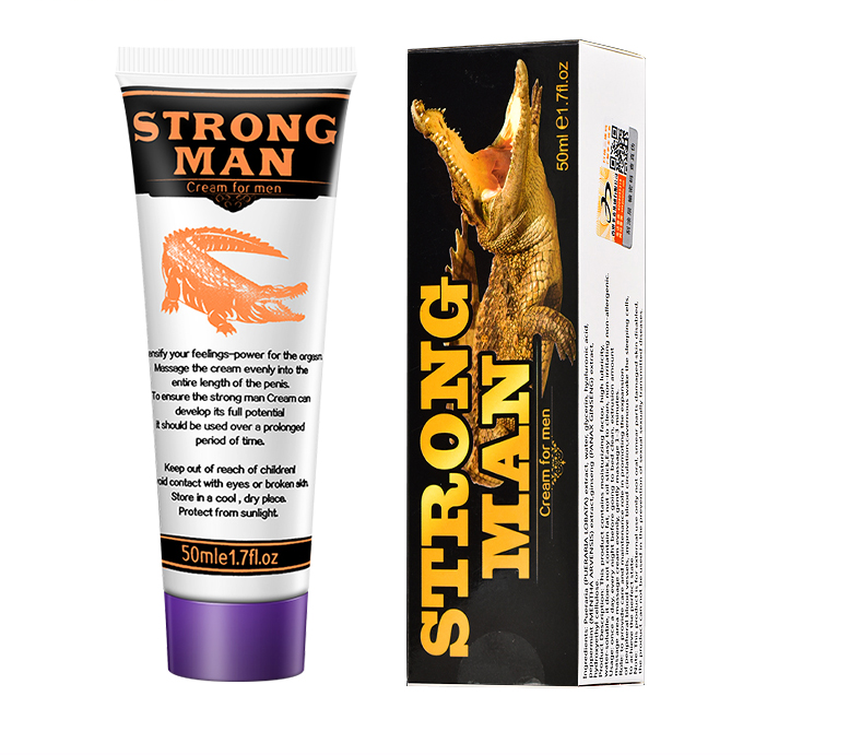 HOT Selling Strong Man XXL Big Dick Penis Enlargement Cream Male Penis Extender Erection Enhancer Increase cream