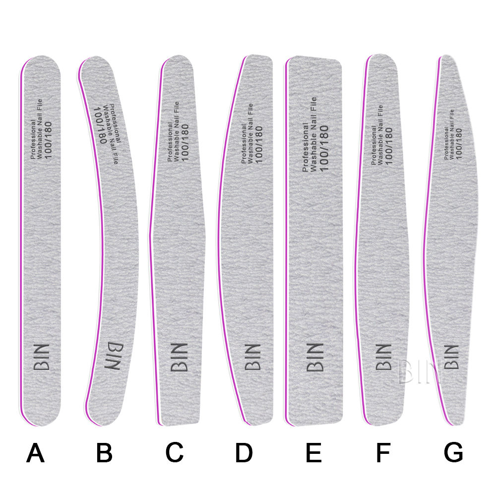 BIN manufacture of nail file Customized Nail File