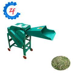 Best Seller Small Type Belt Transmission Farm Used Grain Stalk Straw Hay Chaff Cutter