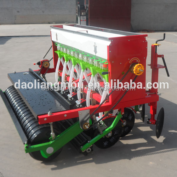 2BMF-12 row tractor mounted grain grass seed drill