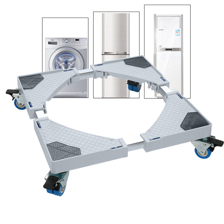 Refrigerator Stand Washing Machine Base with Wheels