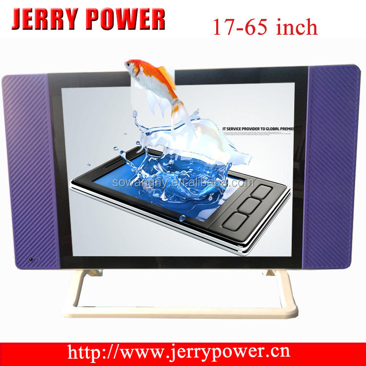 2015 New product factory private Guangzhou wav tv 17/19/22/24/26/32 inch lcd WAV TV