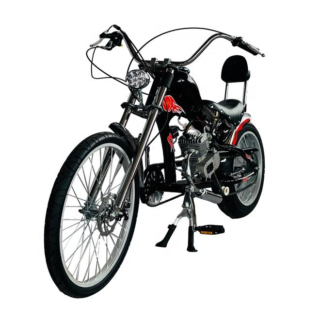 "20""-24"" wholesale business no retail 2 stroke 80CC engine chopper motor bicycle"