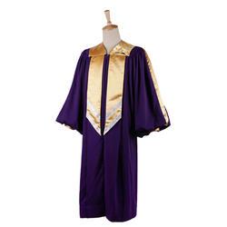Custom Made Crescendo Choir Robe Cheap 100% polyester Church Clothes Gowns wholesale