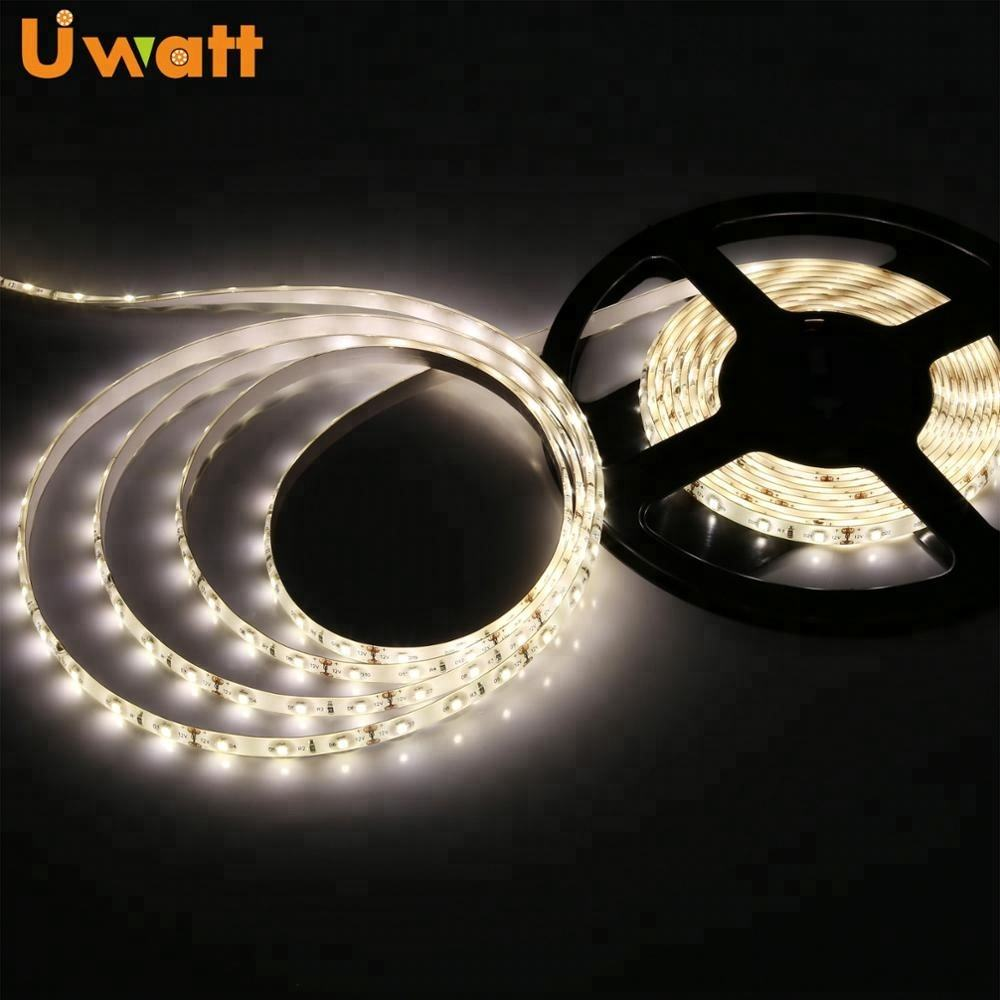 China Supplier DC12V 24V 220V 60LED 120LED IP65 Waterproof 3014 5630 2835 White LED Strip Light