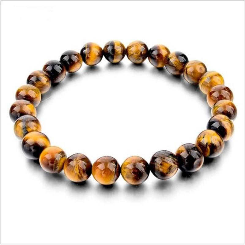 Wholesale fashion natuursteen <span class=keywords><strong>tiger</strong></span> eye armbanden armbanden armband