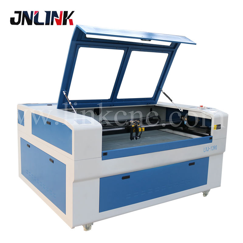 1390 two heads cnc laser engraving and cutting machine