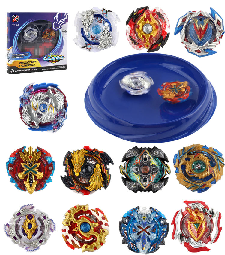Amazon Hot Sell Metal Beyblades Top Set Battle Blade Spinning Top Launcher Beyblades Stadium