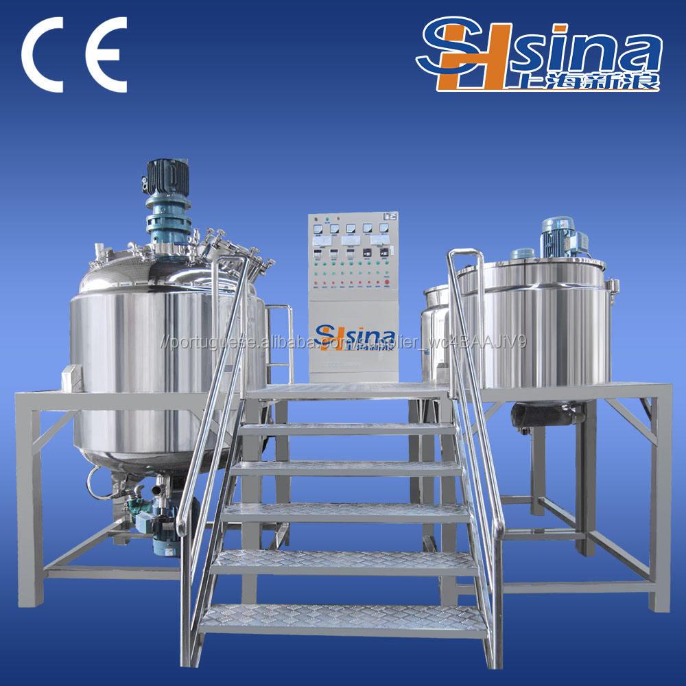 Hot Saled Cosméticos <span class=keywords><strong>V</strong></span>ácuo Homogeneização Emulsionante Mixer