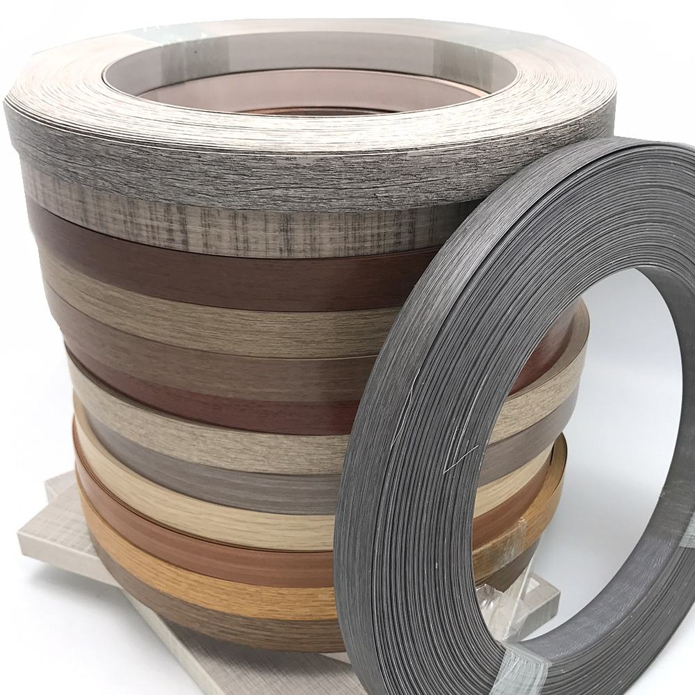 PVC Edge Banding Flexible Plastic Strips For Kitchen Protection For Furniture