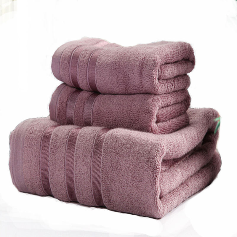 Wholesale hot sale luxury home textile woven sets bamboo towel turkey