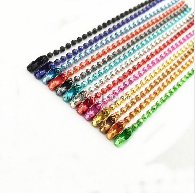 2.4mm Metal Stainless Steel Ball Chain Roll