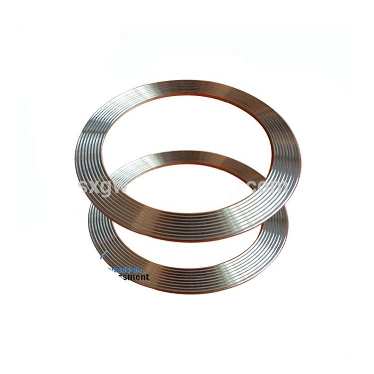 Factory Direct Made Pump Mechanical Seal Spiral Wound Gasket For Heat Exchanger
